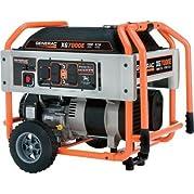 Generac: Portable Generator 8750 Surge Watts, 7000 Rated Watts, 410cc