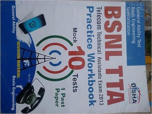 bsnl tta exam 2013 books pdf
