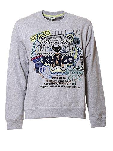 kenzo-mens-f755sw8054xg93-grey-cotton-sweatshirt