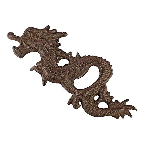 East Garden Far - Design Toscano Far East Asian Dragon Cast Iron Bottle Opener