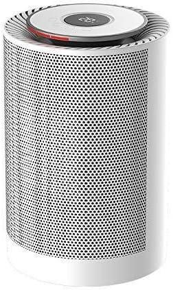ZHWEI 家庭やオフィスの使用のためのヒーター、600Wポータブル扇風機ヒーター、オーバーヒート&転倒の保護 ポータブル (Color : White)