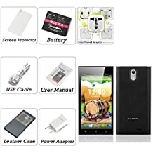Cubot S308 Android 4.4 Phone - 5 Inch 1280x720 OGS IPS Capacitive Screen, 1.3GHz MTK6582 Quad Core CPU, 2GB RAM (Black)