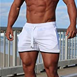 Usstore Shorts for Men's Sports Bodybuilding