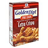 chicken breading mix - Golden Dipt Extra Crispy Soup Chicken Fry, 8-Ounce Box (Pack of 12)