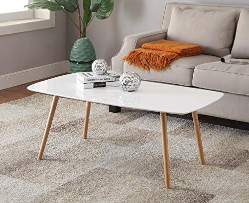 Convenience Concepts Oslo Coffee Table, White