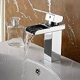 ELITE Luxury Bathroom Chrome Finish Single Lever Faucet for Sink,Vanity 8813C