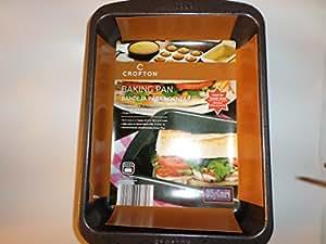 Amazon Com Crofton Toaster Oven Non Stick Baking Pan 8