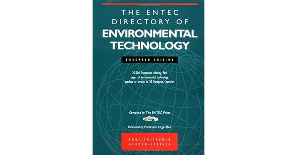 entec directory تقنية البيئية الأوروبية Edition: Kogan Page