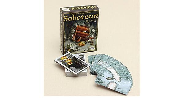Juego Saboteur tarjeta del juego de mesa de la vendimia: Amazon.es ...