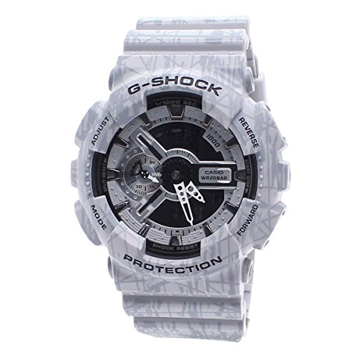 Casio G Shock Analog Digital Strap GA110SL 8A