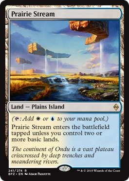 Coast Port - Magic: the Gathering - Prairie Stream (241/274) - Battle for Zendikar