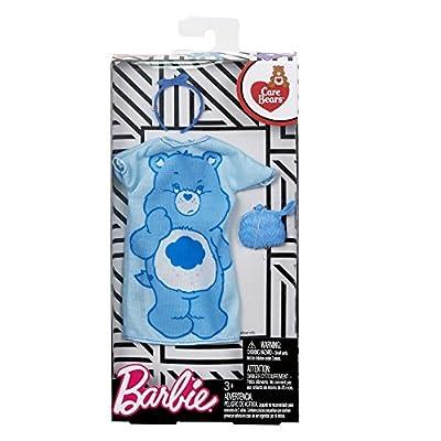 Barbie Care Bear Blue Oversized Dress Fashion Pack: Toys & Games