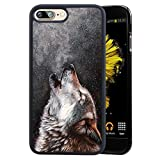 TPU Case For iPhone 7 Plus/iPhone 8 Plus, Lightweight Printed Protection Cover Case, Wolf Customized Design Skin Cover iPhone 7 Plus/8 Plus 5.5 inch