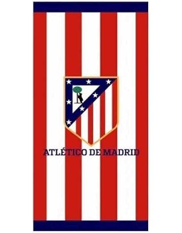 Atlético de Madrid Toalla Polyester Microfibra Tacto Terciopelo, 140x70 cm