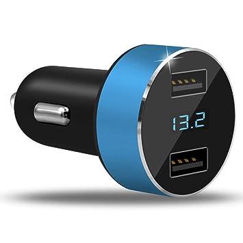 KASSIDY Dual Puertos 3.1A USB Cargador de coche mechero 12V ...