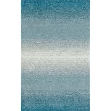Trans Ocean Ombre 9663/04 Aqua 5'X8' Area Rugs