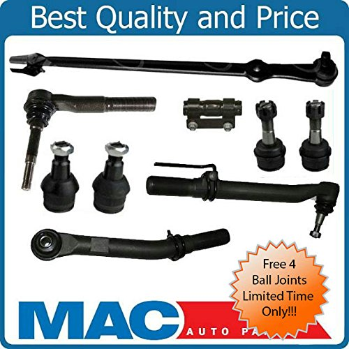 - 05-16 Ford F250 F350 Super Duty Out Tie Rod Ends Drag Link kit 4 Wheel Drive
