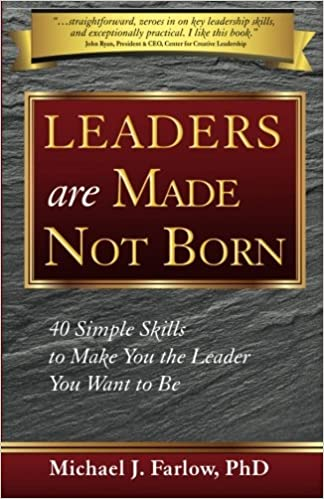 leaders are not born but made discuss