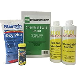 Swimming Pool Spring Start-Up Chemical Opening Kit - Pools Up To 10,000 Gallons