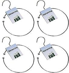all-around24 4 x Gürtelring Krawattenring
