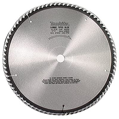 Makita 792118-8 16-5/16-Inch 60 Tooth ATB Beam and Timber Cutting Saw Blade with 1-Inch Arbor