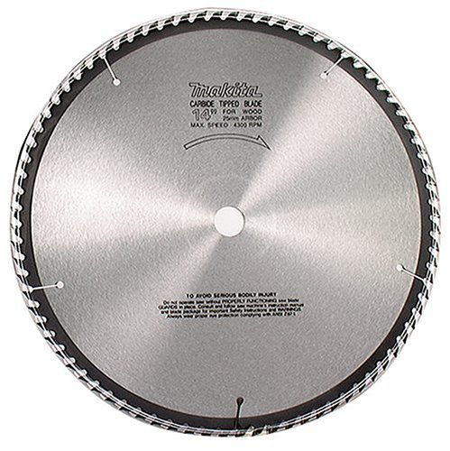 Makita 792118-8 16-5/16-Inch 60 Tooth ATB Beam and Timber Cutting Saw Blade with 1-Inch Arbor (Tooth Atb Thin)