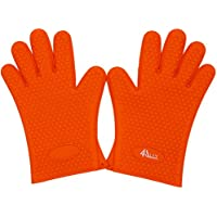 4ally Flexible Silicone Heat Resistant Oven Silicone Gloves