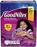 Health & Personal Care : Goodnites Bedtime Pants for Girls, Small/Medium, 31 Count