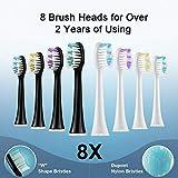 HSYTEK Whitening Electric Toothbrush Dual