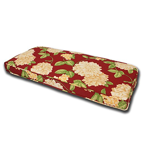 Outdoor Bench Loveseat Cushion with Double Welt 41
