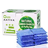 : 100% Sealed All-Natural Air Purifier and Diaper Pail Deodorizer - for Diaper Genie, Ubbi & Other Pails Shoe Closets, Cars,Refrigerators & with Pets, Set of 20 Bamboo Carbon Filters