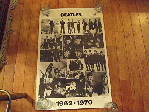 - Beatles 1962-1970 Capitol Apple Promo Poster Designed Robert Zenter 1976