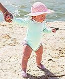 RuffleButts Baby/Toddler Girls Mint Seersucker One