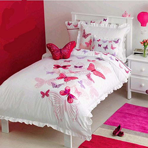 Bedroom Color Schemes With Red Bedroom Colors Blue And Green Target Bedroom Sets Creative Bedroom Blue Wall Designs: Butterfly Bedding