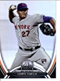 2013 Bowman Platinum Baseball Card # 86 Jeurys Familia RookieNew York Mets