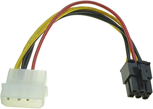 R03 6pin Pcie Auf 4 Pin Molex Grafikkarte Stromkabel Elektronik
