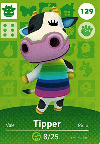 Nintendo Animal Crossing Happy Home Designer Amiibo Card Tipper 129/200 USA Version