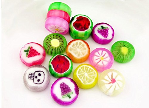 Interesting Gift Cute Candy with Mix Fruit Flavor 150g (5.2oz) by lara lee@hxy (Image #1)