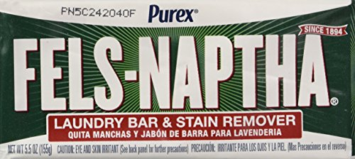 Dial Corp. 04303 Fels-Naptha Laundry Bar Soap (Pack of 4) ()
