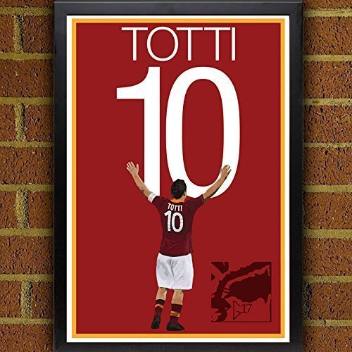 fan products of Francesco Totti Poster - AS Roma Soccer Art