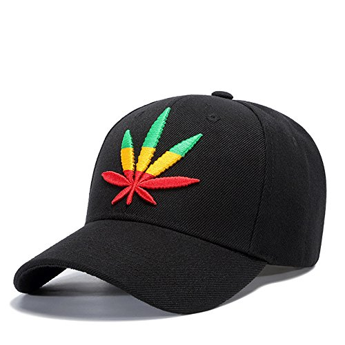 MENGMA Hombre Hip Hop Moda Weed Sombrero Calle Cap Snapback del sombrero gorra de béisbol del casquillo regalos BBOY mejores regalos blanco