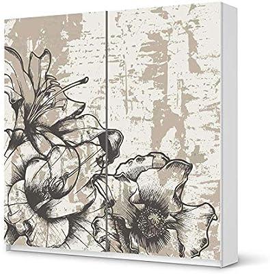 Muebles-pegatinas IKEA brilliant armario 201 cm Altura - puerta corredera/vintage{1} design Sticker Styleful/autoadhesiva decoración: Amazon.es: Hogar