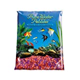 Pure Water Pebbles Aquarium Gravel, 5-Pound, Neon Fruit Delight