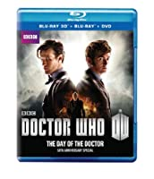 Doctor Who 50th Anniversary Special: The Day of the Doctor (Blu-ray 3D / Blu-ray / DVD Combo) by BBC Home Entertainment