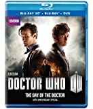 Doctor Who: The Day of the Doctor - 50th Anniversary Special [Blu-ray 3D + Blu-ray + DVD]