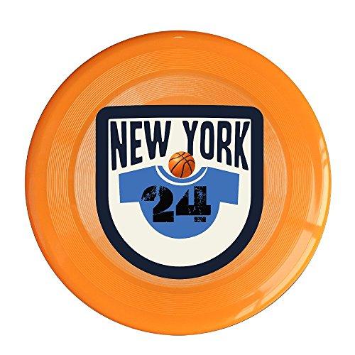 Bro-Custom N Y NO. 24 Pattern Flying Disc For Boy Size One Size Orange