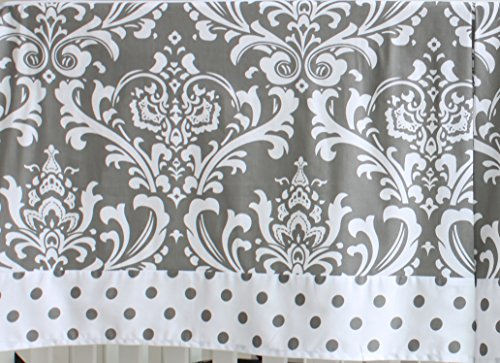 7 Pieces Set Grey Floral youngster Crib Bedding Sets