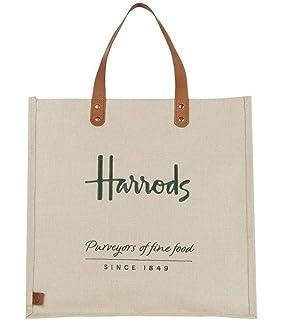 ca477977f7 harrods Small Logo Shopper Bag - Borsa a mano in PVC con fodera in ...