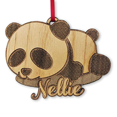 - Panda Bear Baby Shower Themed Gift for Birthday Present Sister Brother Sibling Christmas Ornament Cute Bears Lover
