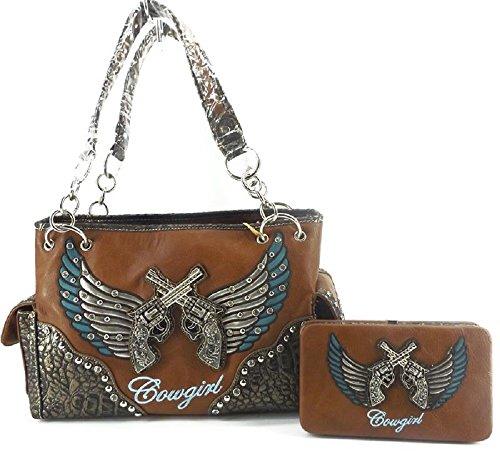 SS Cowgirl Rhinestone Wings...